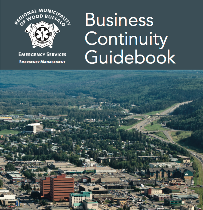 Regional Municipality of Wood Buffalo – Business Continuity Guidebook