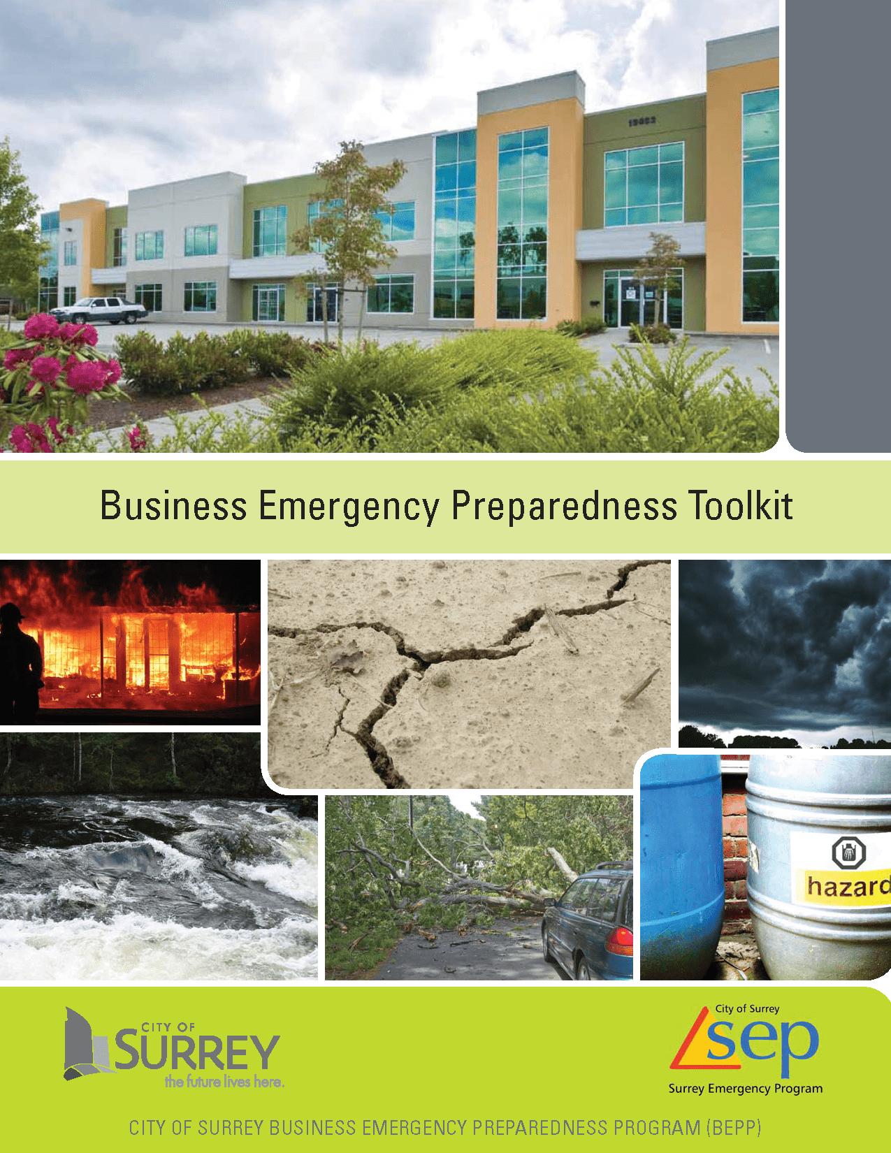 Surrey Business Emergency Preparedness Toolkit